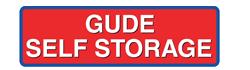 Gude Self Storage logo